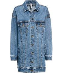 giacca di jeans oversize (blu) - rainbow