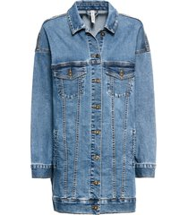 giacca di jeans oversize (blu) - rainbow