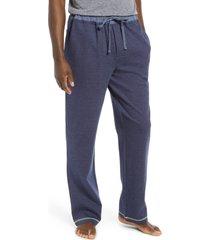 men's majestic international men's sky escape pajama pants, size x-large - blue
