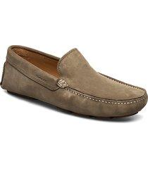 nicehill moccasin loafers låga skor brun gant