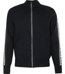 michael kors side stripe logo jacket