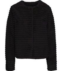 giacca in ecopelliccia (nero) - bodyflirt