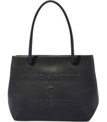 marc jacobs small east west leather tote