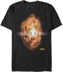 marvel men's avengers infinity war the soul stone short sleeve t-shirt