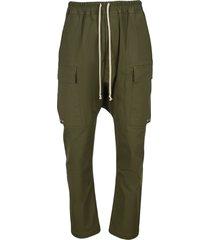 rick owens plegethon drop-crotch trousers