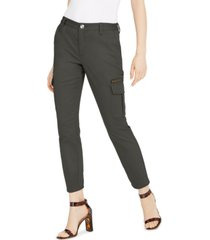 inc slim-leg cargo utility pants, created for macy's