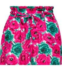 shorts (fucsia) - rainbow