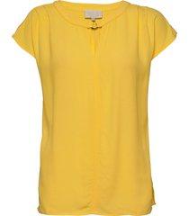 ariana top blouses short-sleeved gul minus