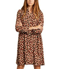 peggy colchique long sleeves shirt-dress