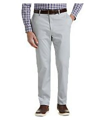reserve collection tailored fit flat front chino pants - big & tall by jos. a. bank