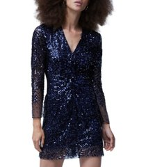 french connection emille sequined dress
