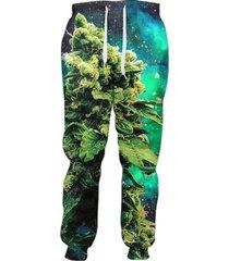 weed of galaxy joggers women casual pants men unisex sweatpants full length 3d p