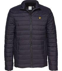 lightweight quilted jacket gevoerd jack zwart lyle & scott