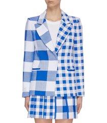 'boston' asymmetric panelled blazer