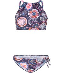 bikini a bustier (set 2 pezzi) (blu) - bpc bonprix collection