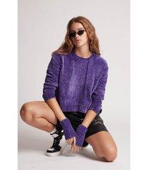 sweater violeta 47 street derek k.