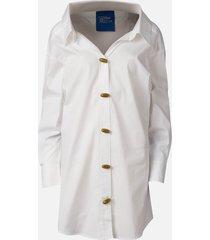 simon miller women's taluga shirt - white - s