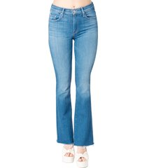the painted weekender fray jeans