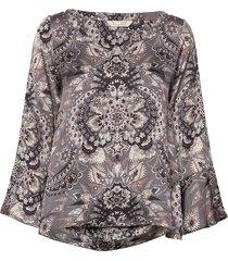 head turner blouse blus långärmad multi/mönstrad odd molly