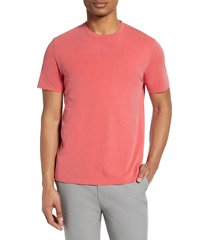 men's frame perfect classic t-shirt, size small - red