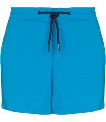 orlebar brown setter sport drawstring swim shorts - blue