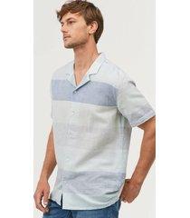 skjorta cubano shirt boyer marshmallow