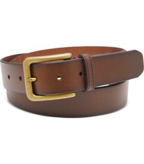 fossil men's morrison leather belt