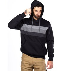 plus hoodie  canguro chest negro gangster