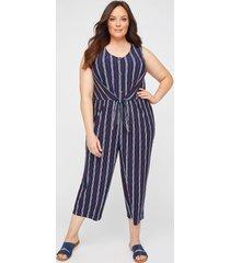 dorset striped jumpsuit
