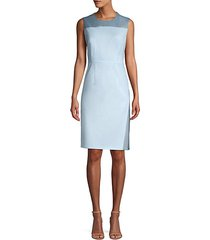 doreli virgin wool sheath dress