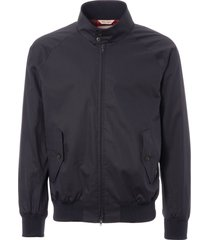 stuarts x baracuta archive g9 harrington jacket - dark navy brcps0585-300