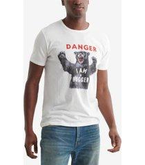 lucky brand men's bear hugger t-shirt