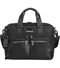 tumi men's alpha bravo albany briefcase