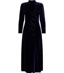 eydisgz long dress ye20 maxi dress galajurk blauw gestuz