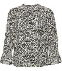 grittpw sh blouse lange mouwen zwart part two