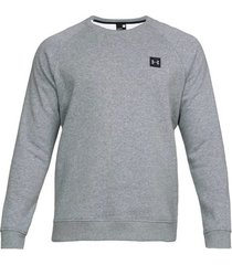 sweater under armour rival fleece crew 1320738-036