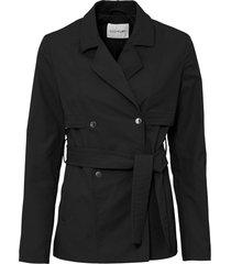 giacca stile trench (nero) - bodyflirt