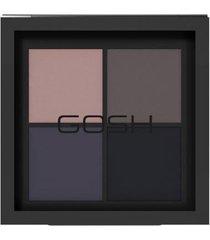 paleta de sombra gosh copenhagen - eye xpression thunderstorm