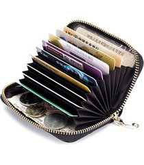 portafoglio carino da donna in vera pelle con 9 tasche