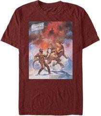 fifth sun men's star wars empire strikes back snowalker poster short sleeve t-shirt