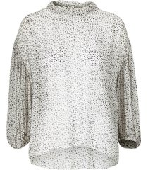 blus crystal star blouse