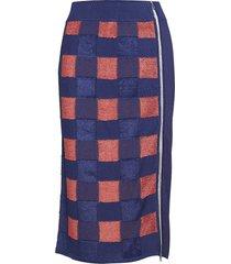 ridley skirt knälång kjol blå rag & b