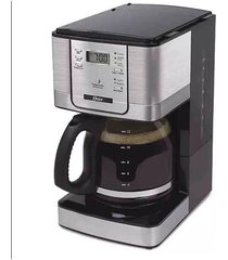 cafeteira digital programável oster bvstdc4401 preta 36 xícaras - 220v