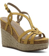 adrienne vittadini women's clutch platform wedge sandals women's shoes
