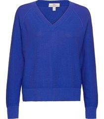sweaters stickad tröja blå edc by esprit