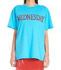 alberta ferretti rainbow week t-shirt