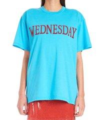 alberta ferretti rainbow week t-shirt