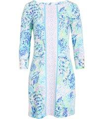 women's lilly pulitzer sophie upf 50+ shift dress, size xx-large - purple