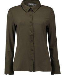 blouse legergroen