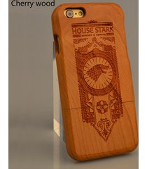 natural wooden wood phone case for iphone 7 6 6s plus custom name cover